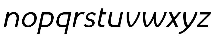 MintSpirit-Italic Font LOWERCASE