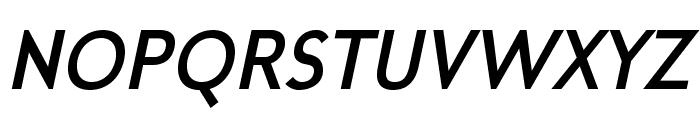 MintSpiritNo2-BoldItalic Font UPPERCASE