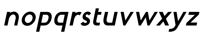 MintSpiritNo2-BoldItalic Font LOWERCASE
