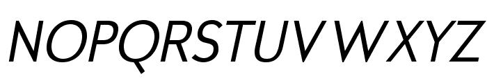 MintSpiritNo2-Italic Font UPPERCASE