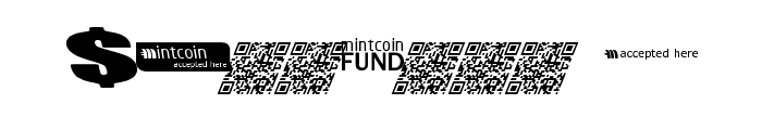 Mintcoin Font OTHER CHARS