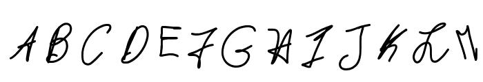 MintyFreshGelato Font UPPERCASE