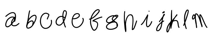 MintyFreshGelato Font LOWERCASE