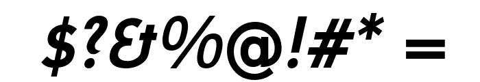 Mintysis Bold Italic Font OTHER CHARS