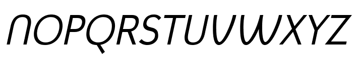 Mintysis Italic Font UPPERCASE