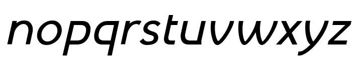 Mintysis Medium Italic Font LOWERCASE