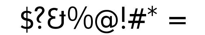 Mintysis Regular Font OTHER CHARS