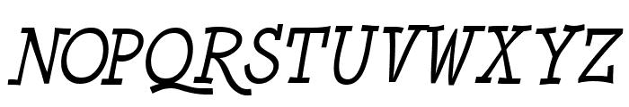 Minya Nouvelle Italic Font UPPERCASE