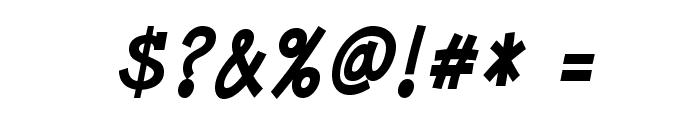 MinyaNouvelle-BoldItalic Font OTHER CHARS