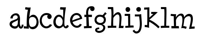 MinyaNouvelle-Regular Font LOWERCASE