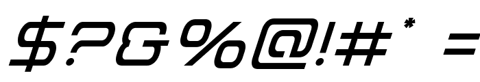 Miracle Mercury Italic Font OTHER CHARS