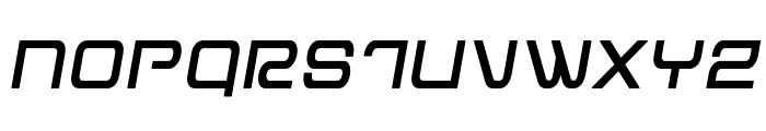 Miracle Mercury Semi-Bold Semi-Italic Font UPPERCASE