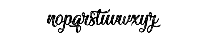 Miraculous&Christmas Font LOWERCASE