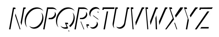 Mirage Italique Font UPPERCASE