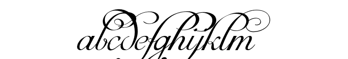 Mirella Script Limited Free Version.vfb Font LOWERCASE