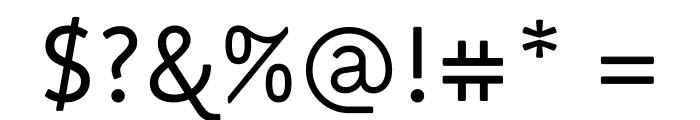 Miriam Libre Regular Font OTHER CHARS