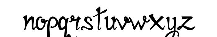 Mirinia Font LOWERCASE