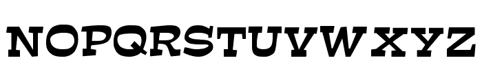 Mirisch Font UPPERCASE