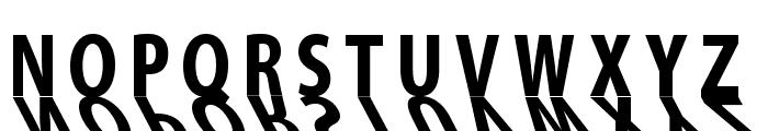 MirrorKlein Shadows Font UPPERCASE