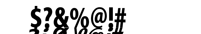 MirrorKleinShadow Bold Font OTHER CHARS