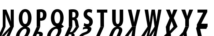 MirrorKleinShadow Bold Font LOWERCASE