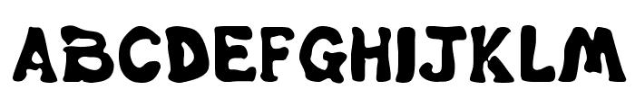 Misbehavin' Font UPPERCASE