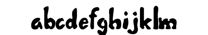Misbehavin' Font LOWERCASE