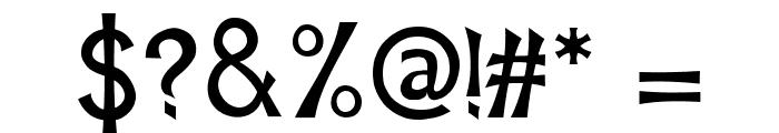 Mischievous Sans Serif Font OTHER CHARS