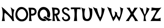 Mischievous Sans Serif Font UPPERCASE