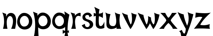 Mischievous Sans Serif Font LOWERCASE