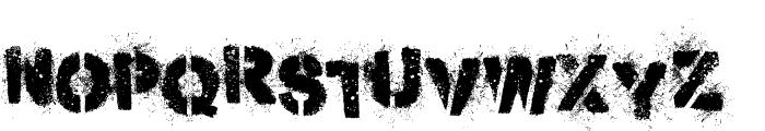 Misdemeanor Font LOWERCASE