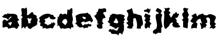 Misfit Font LOWERCASE