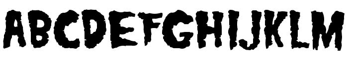 Misfits Font UPPERCASE