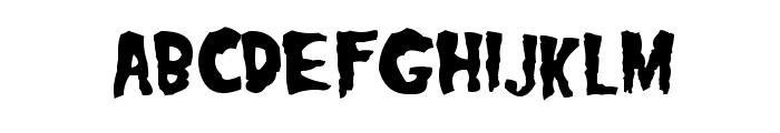 Misfits Font LOWERCASE
