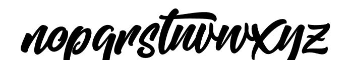 Mishaland Font LOWERCASE