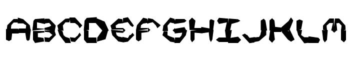 Mishmash 4x4i BRK Font LOWERCASE