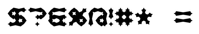 Mishmash ALT2 BRK Font OTHER CHARS