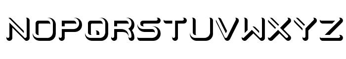 Mishmash Fuse BRK Font UPPERCASE