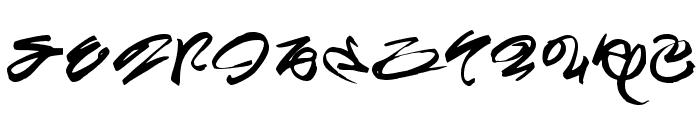 Miskatonic Font UPPERCASE