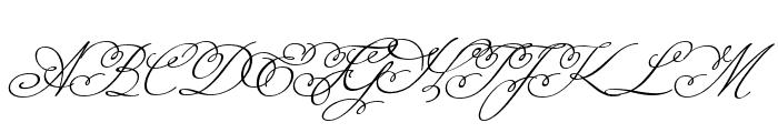Miss Fajardose Regular Font UPPERCASE