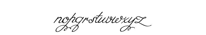 Miss Fajardose Regular Font LOWERCASE