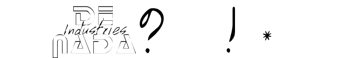MissBrooks Regular Font OTHER CHARS