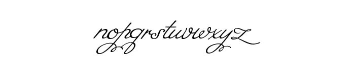 MissFajardose-Regular Font LOWERCASE