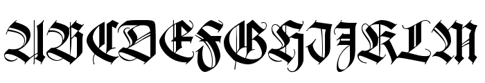 Missal Font UPPERCASE