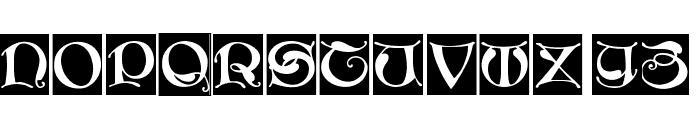 MissalUncialeBricks Font LOWERCASE