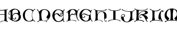 MissalUncialeMaster Font UPPERCASE