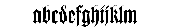 Missal Font LOWERCASE
