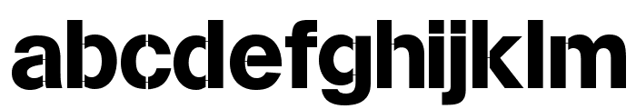 MissingLinks Font LOWERCASE