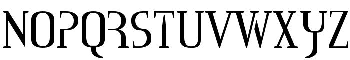 Mississauga Font UPPERCASE