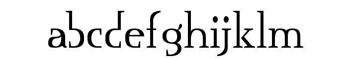 Mississauga Font LOWERCASE